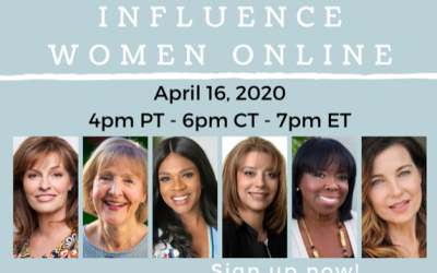 Influence Lab's Women's ONLINE Webinar During the COVID-19 Pandemic
