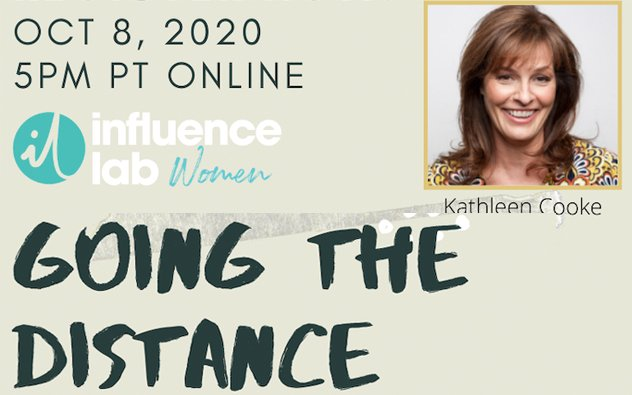 Influence Lab Women's ONLINE Webinar : Going The Distance