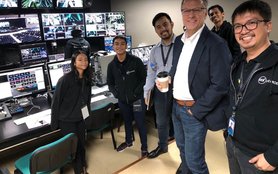 Manila, Philippines – Light TV Interviews Phil Cooke
